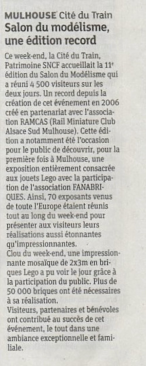 Article DNA du 30 septembre 2017