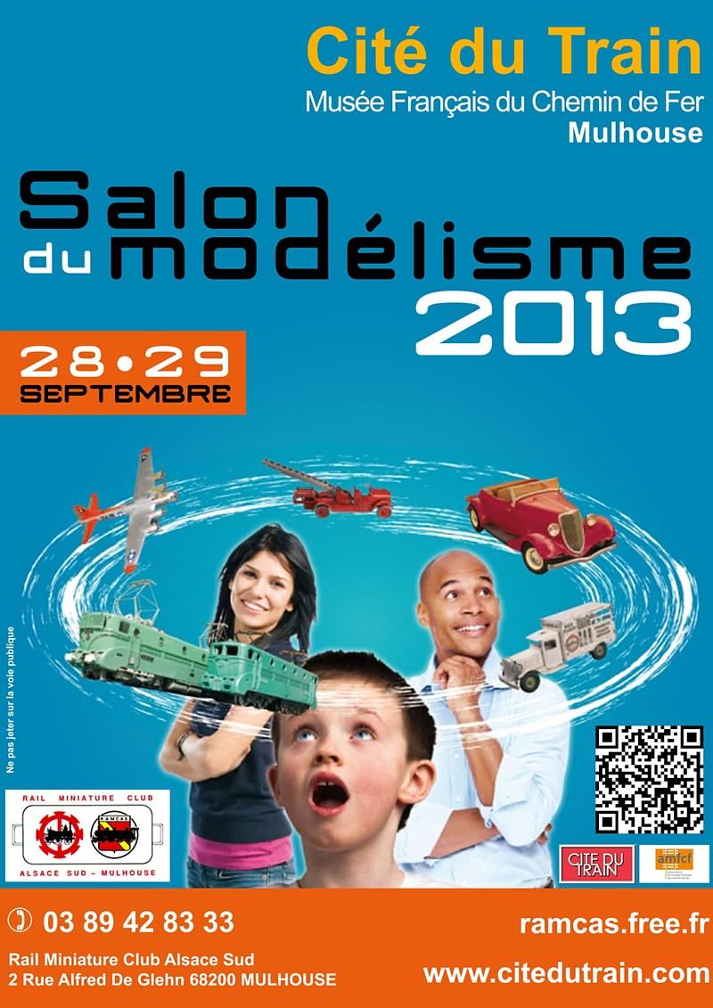 Affiche salon du modelisme 2013